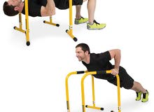 Brand new Adjustable Barbarian Parallettes Gymnastic Dip Station Machine Crossfi