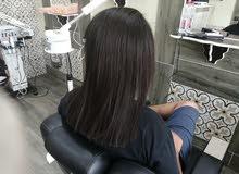 تمليس ،فرد وعلاج الشعر بالبروتين و الكيراتين البرازيلي الأصلي مختص خبرة 25 سنة