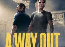 مطلوب لعبة a way out