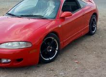 سيارة للبيع رياضية ميتسوبيشي اكلبس احمر