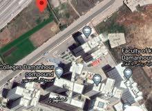ارض للبيع امام جامعة دمنهور