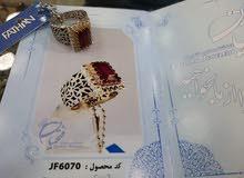 أجمل الخواتم الإيرانية الفاخرة حفر يدوي وحجر طبيعي مع شهادة