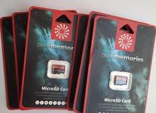 6X Memory Card 64GB MicroSD 4K video recording