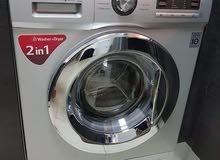 ;-lg 8 kg washer and 4 kg dryer washing machine washer plus dryer