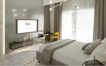 شقة للبيع غرفتين وصاله في البرشا مقدم 124,000 درهم و الاستلام في شهر 12 المقبل