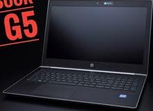 جيل سابع HP PROBOOK 450 G5 CORE I5 رمات : 16 جيجا DDR4