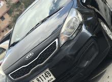 للبيع كيا ريو 2015 اسود Kia Rio 2015 black for sale