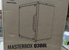 كيس كمبيوتر من كولر ماستر MasterBox Q300L (جديد)    MCB-Q300L-KANN-S00 MODEL NUM
