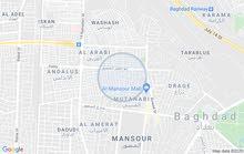 قطعه ارض للبيع المساحه 125م واجه 5م العنوان حي المتنبي خلف مطعم حجي حسين