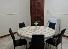 Wooden round dining Table - 6 chairs