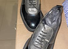 حذاء راقي مع كعب خفيف