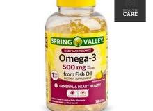 omega - 3 /اوميقا 3 امريكي اصلي درجه اولى