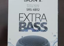 سماعات sony wireless speaker SRS-XB12 جديد للبيع