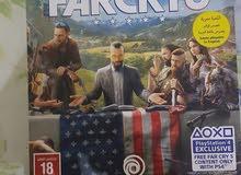 far cry5 deluxe editionللبيع او البدل