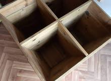 احواض عدد 3 خشبية صناعة درجة أولي من الخشب المعالج لأعلي سعر