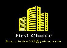 شقة للبيع 160م 3غرف و 3 ريسبشن في الدور السابع