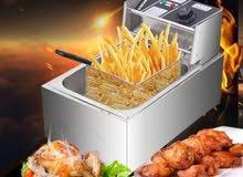 قلاية البطاطا والبروستد واللحوم والأسماك وغيرها الكهربائية ،،سعة 6 لتر
