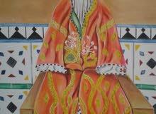 لوحة فنية تقليدية