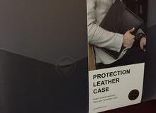 للبيع حقيبة جلد ليزر اسود لايباد 12.9 و10.5