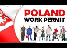 وظائف شاغره للحرفين وغير الحرفين في بولندا!!   تصريح إقامة مؤقتة وتصريح عمل