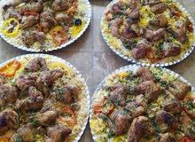 برياني كبسة منسف اوزي كبة وكافة الطبخات لكل المناسبات