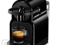 للبيع ماكينه القهوة من نيسبريسو المعروفه  لم تستعمل غير اسبوع واريد بيعها شبه جديدة