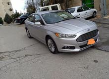 Renting Ford cars, Fusion 2015 for rent in Amman city