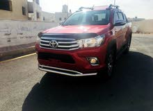 Manual Red Toyota 2017 for sale