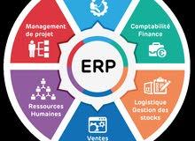 انظمة محاسبية وتخطيط شركات ERP مقاولات وتجاري