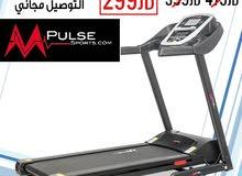 بمحل الحسين جهاز ركض و مشي تردميل و اجهزة رياضية ماركة Mpulse من سنوات اثبت جدارته بأسعار محروقة