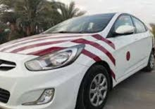 Renting Hyundai cars, Accent 2012 for rent in Muscat city