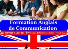 Formation Anglais de  communication tunis
