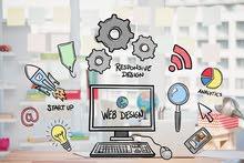 تصميم وبرمجة المواقع الالكترونية Website design and development