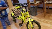 دراجة اطفال شبه جديدة