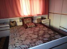 غرفة نوم خشب لاتيه 16 مع فرشه ضغط