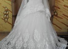 فستان زفاف للبيع فقط