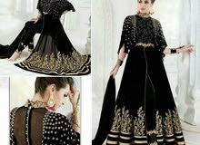 فستان هندي جرجيت اصلي السعر 175