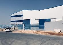 للبيع مصنع في مدينة الصناغيه قي الخرج مساحته 8400