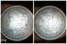 morgan silver dollar 1891