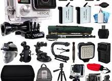 for Sale action camera gopro hero 4 black edition with accessories