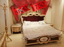 غرفة نوم مصري دمياطي ملوكي خشب زان ولاتيه حفر يدوي فاخر سمك الخشب 22