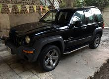 Automatic Black Jeep 2004 for sale