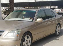 Gold Lexus LS 2004 for sale