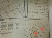 للبيع أرضين شبك سكنيات الموقع (حي النفحات المرحلة الأولى) ولاية البريمي