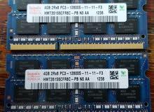 رام لابتوب 4G DDR3
