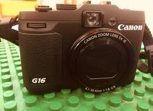 للبيع كاميره كانون جديده استعمال مره مع جنطة وميمري 16 قيقا130 قابل للمساومة