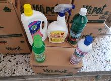 مواد تنظيف للبيع جمله
