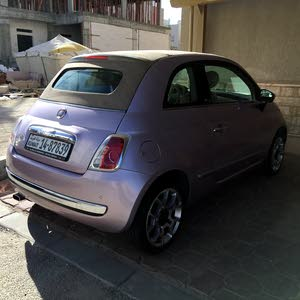 Fiat 500 2014 For sale - Pink color