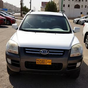 Used condition Kia Sportage 2007 with +200,000 km mileage