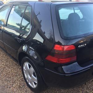 Black Volkswagen Golf 2003 for sale